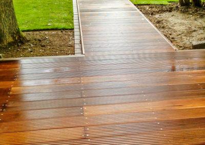 Gartenbau Spicks - Meerbusch - Holzterrasse